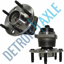 New Set (2) Front Driver & Passenger Wheel Hub and Bearing Assembly w/ABS