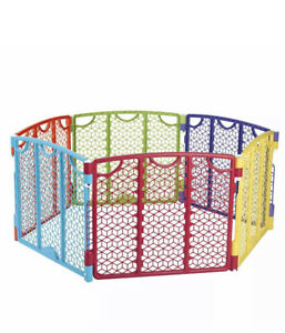 Versatile Play Space Evenflo Indoor Outdoor Multi-Color best for baby