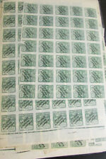 Georgia Stamps # B3 Stamp Hoard of 4,800 Scott Value $3,600.00