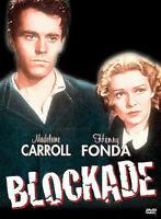Blockade DVD 1938 Henry Fonda, Madeleine Carroll - Rare Movie - REGION 1 USA
