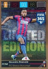 Limited Edition - Nicandro Breeveld / Steaua B - Panini Adrenalyn XL FIFA 365