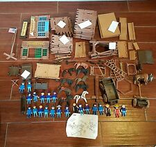 playmobil Fort Bravo 3773 cowboys soldiers horses and extras mixed sets