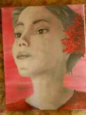 tableau art oeuvre unique peinture huile n°4 40x50cm