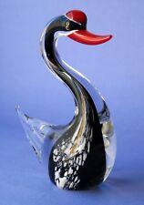 "Amazing Kisslinger Ratten Berg Crystal Glass Figurine ""Swan"""