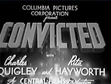 CONVICTED 1938 Rita Hayworth, Charles Quigley