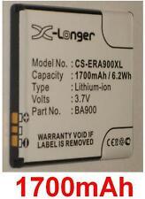 Batería 1700mAh para SONY ERICSSON ST26a tipo BA900