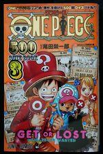 japan 154) Eiichiro Oda: One Piece 500 Quiz Book vol.3