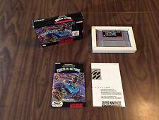 Teenage Mutant Ninja Turtles IV 4 Turtles in Time (Super Nintendo SNES) Complete