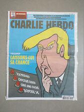 DONALD TRUMP!!! CHARLIE HEBDO 1278 rare - 18.01.2017