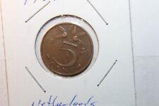 Nederland - 5 cent - JULIANA - 1954  Free Ship USA