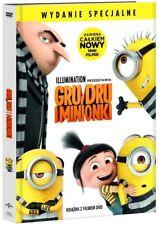Gru, Dru i Minionki DVD Wysyłka z Polski w dniu wydania Dubbing PL