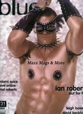 (not only) Blue Magazine #31 February 2001 gay men Mardi Gras IAN ROBERTS
