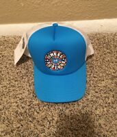 Wheel Of Fortune Adjustable SnapBack Blue White Television Win Million Cap Hat