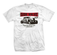 T-Shirt Side Valve 113 | Rockabilly Kustom Car Hot Rat Rod Vintage Flathead V8
