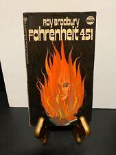 FAHRENHEIT 451 by Ray Bradbury 1972 Ballantine Books Science Fiction New York