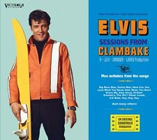 ELVIS SESSIONS FROM CLAMBAKE 69 TRACKS DELUXE DIGIPACK SOUNDBOARD SCELLÉ 3 CDS