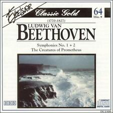 Beethoven: Symphonies 1 & 2: The Creatures of Prometheus 199 *NO CASE DISC ONLY*