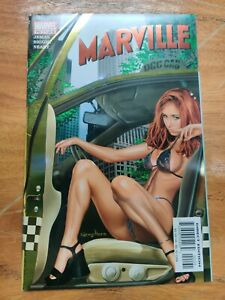 MARVILLE #1 VF/NM GREG HORN FOIL COVER MARVEL COMICS 2002