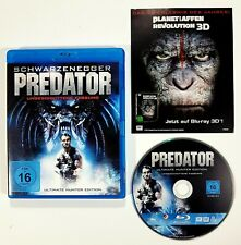 Blu-ray PREDATOR Ultimate Hunter Edition dt. OVP Ungeschnitten/Schwarzenegger