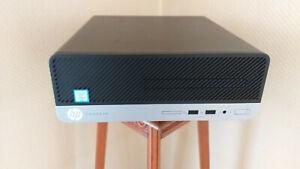 ordinateur de bureau HP prodesk 400 G4 SFF,core i3 6eme generation ,RAM DDR4 8go