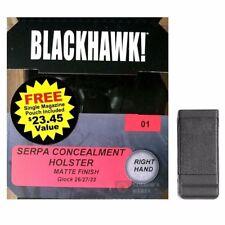 BLACKHAWK GLOCK 26 27 33 Holster PLUS Single Magazine CASE FAST SHIP