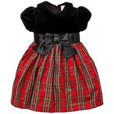 baby girl OCCASION DRESS SET 12M 18M 24M party wedding tartan LITTLE ME BNWT