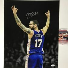 Autographed/Signed JJ J.J. REDICK Philadelphia 76ers Sixers 16x20 Photo JSA COA