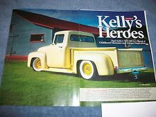 "1956 Ford F-100 Resto-Rod Article ""Kelly's Heroes"""