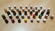 40 china limoges thimbles gold collection rare