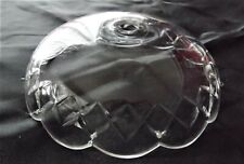 """New listing 6"""" Cut Crystal Bobeche - Chandelier Parts"""