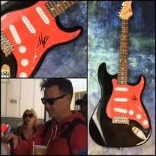 GFA Blink-182 Original * MARK HOPPUS * Signed Electric Guitar PROOF AD3 COA