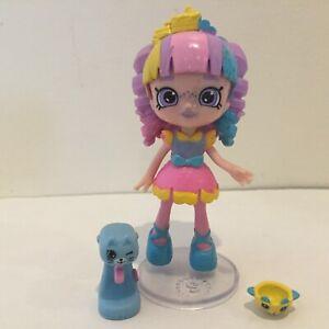 SHOPKINS Happy Places Lil Shoppie Doll- RAINBOW KATE w/ Exclusives