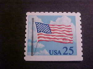 Scott # 2285a Flag with Clouds (bklt single) Unused OGNH