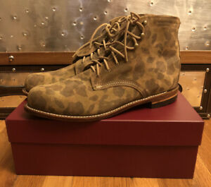 Mens Wolverine 1000 Mile Boots Size 13 Camo Never Worn