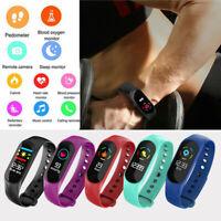 2019 Hot Fitness Smart Watch Activity Tracker Women Men Kid Fit bit Heart Rate