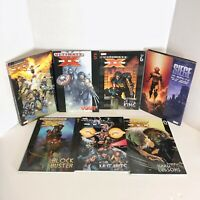 MARVEL ULTIMATE/SIEGE X-MEN Graphic Novel TPB Lot of 7 #2, 5, 6, 7, 8, 12 PB/HC