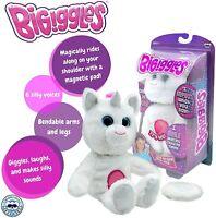 BIGiggles Take-Along, Chat-Back Plush Talking Stuffed Unicorn (Damaged Packaging