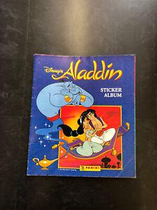 Panini Vintage Disney Aladdin Complete Sticker Album