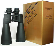 NEW FULL SPORTS TRAVEL MEGA ZOOM BINOCULARS 20x180x100 POWER BIRD WATCH UK STOCK
