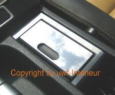 (G3) Blende Edelstahl Ascher + Umrandung chrom BMW E36 Z3 vorne