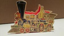 1983 Vintage Merrimack Publishing Antique Locomotiv Christmas Ornament/Candy Box