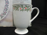 "Martha Stewart ""Winter Jubilee"" 16-Pc Stoneware Dinner Set NIB Great Gift Sturdy"