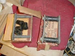 NOS MOPAR 1935-40 REAR SPRING SHACKLE KITS ALL MODELS