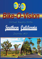 "Bike-O-Vision Fullscreen Cycling  DVD, ""Southern California"""