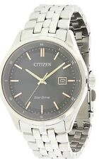 Citizen Eco-Drive Sapphire Stainless Steel Mens Watch BM7251-53H