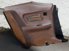 1971 1972 1973 Mercury Cougar XR7 Rear Driver side Interior Panel Dark Beige OEM