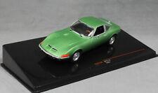 IXO Opel GT in Green Metallic 1969 CLC318N 1/43 NEW 2019 Release