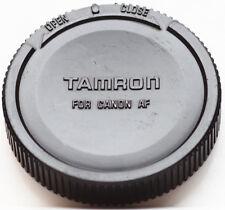 Genuine Tamron Rear Lens Cap For Canon AF EF Mount Lenses