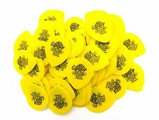 Dunlop Guitar Picks 72 Pack Tortex Tear Drop .73mm 413R.73 Yellow
