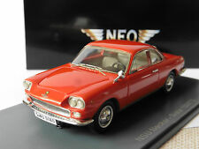 Nsu Neckar Siata 1500 TS Red 1963 Neo 45180 1/43 Rosso Rouge Rot LHD Left Hand